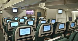 Cathay Pacific Premium Economy Cabin